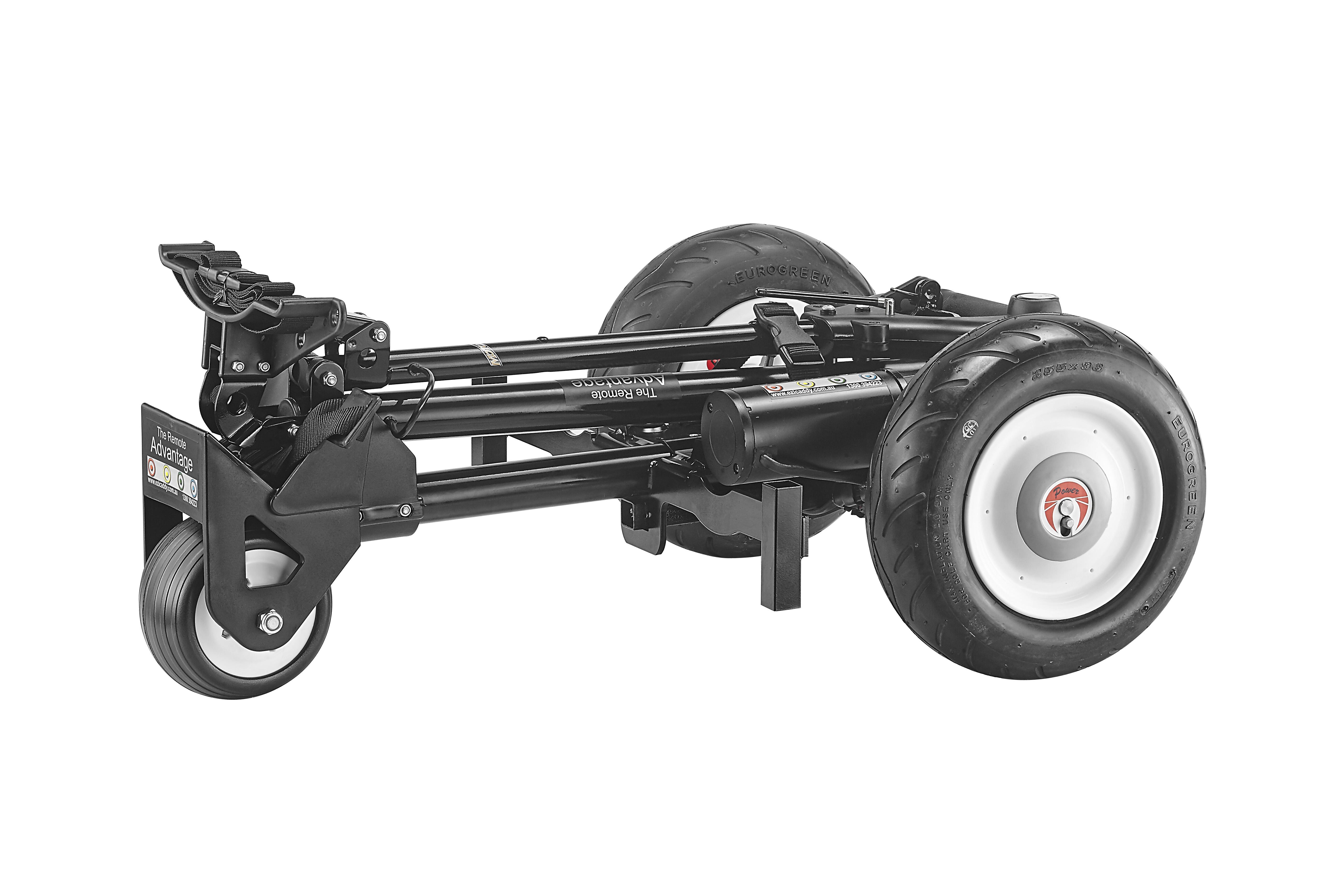 Ezicaddy Remote Advantage MotoBrake Air 18Ah Lithium, Battery Golf